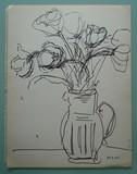 Double étude de fleurs #2 [recto/verso]