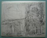 Double étude de paysage [recto/verso]