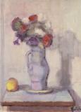 Bouquet de fleurs sur un guéridon