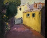 Paysage de Provence - L'entrée de la bastide