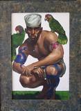 Marin tatoué aux deux perroquets