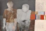 Deux hommes en gris
