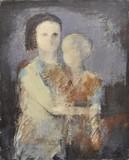 Elle tient son fils