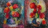 Ensemble de deux bouquets de fleurs #1 et #2