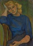 Jeune femme rêveuse