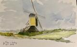 Moulin à vent à Limburg, Pays-Bas