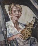 Le chat dans la voiture