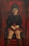 Portrait de Cendrine assise