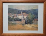 Paysage de Bourgogne | Poster