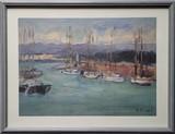 Le port de Saint-Tropez #3 | Poster